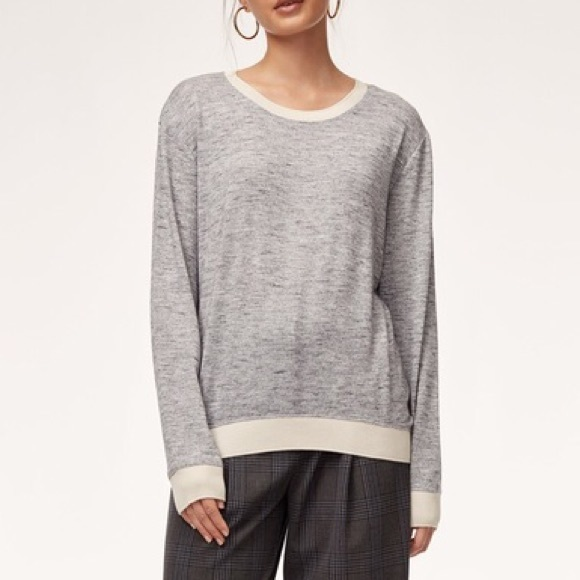 Wilfred berri t shirt sweater in galaxy